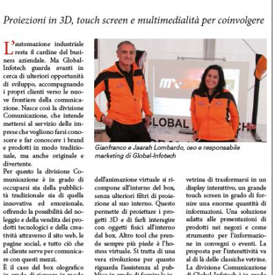 Global Infotech in edicola
