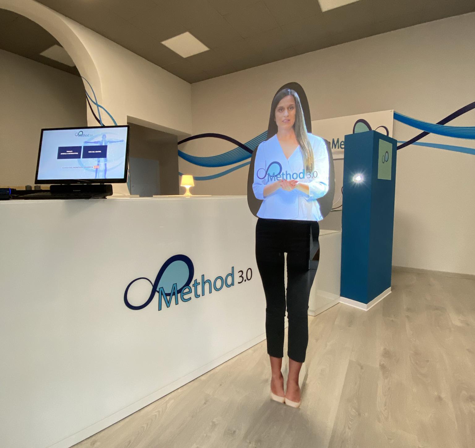 METHOD 3.0: la tecnologia virtuale approda in palestra