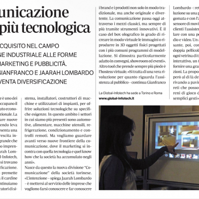 """Industria Expo de """"Il Giornale"""" parla di noi!"""